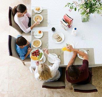 Як направити сім'ю на правильне харчування?