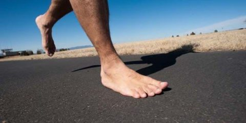 Чому біг босоніж краще?