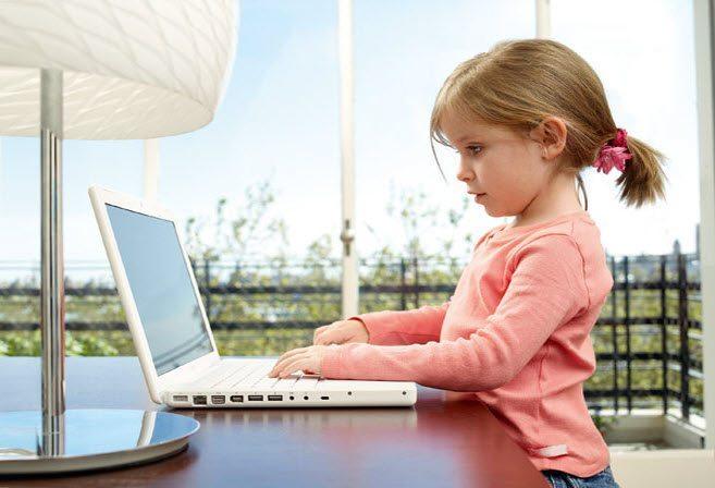 комп'ютер і дитина