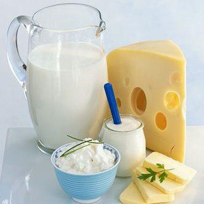 Молочные продукты против рака