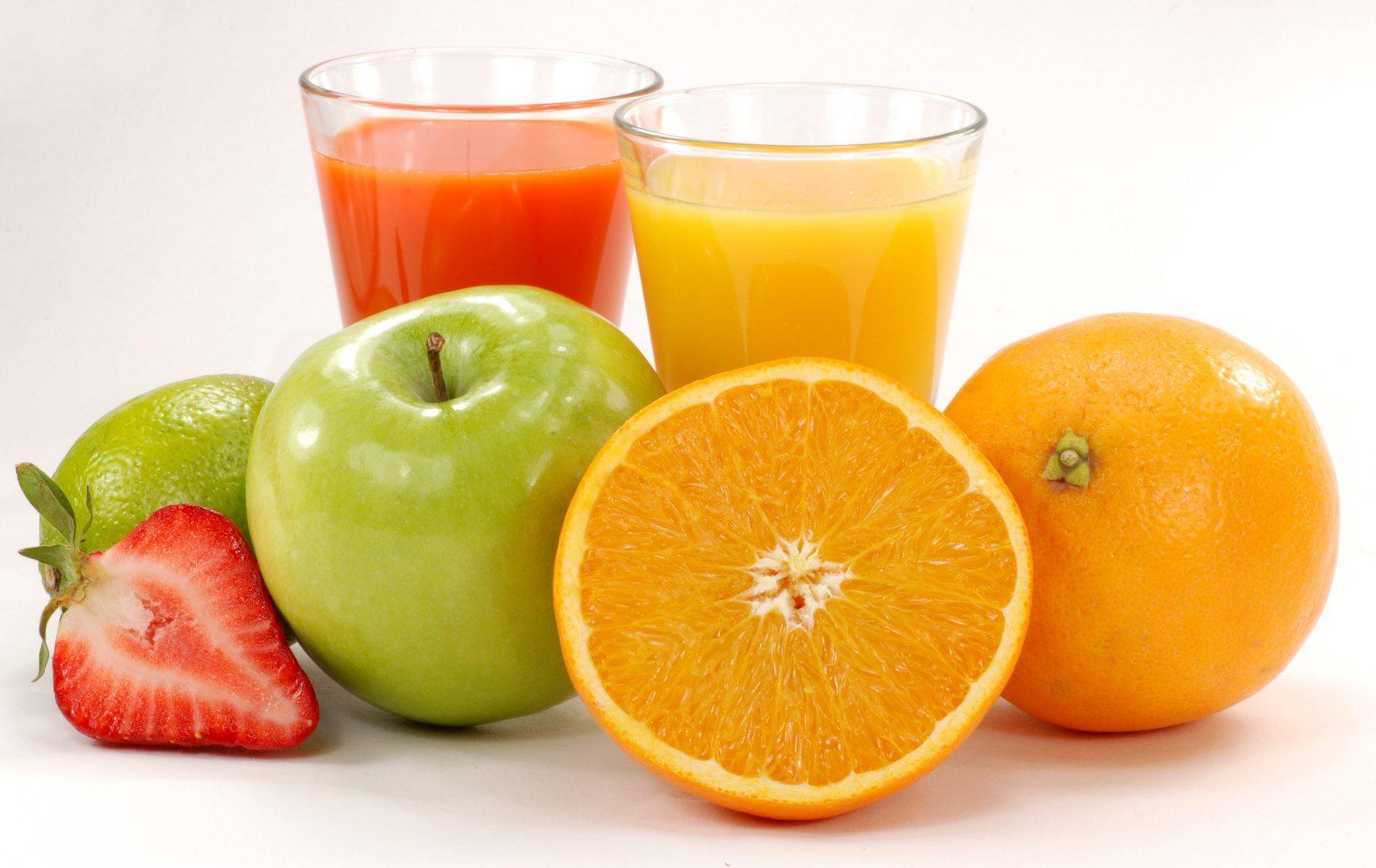 фруктові соки?