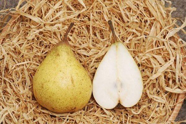 фрукти з білою м'якоттю