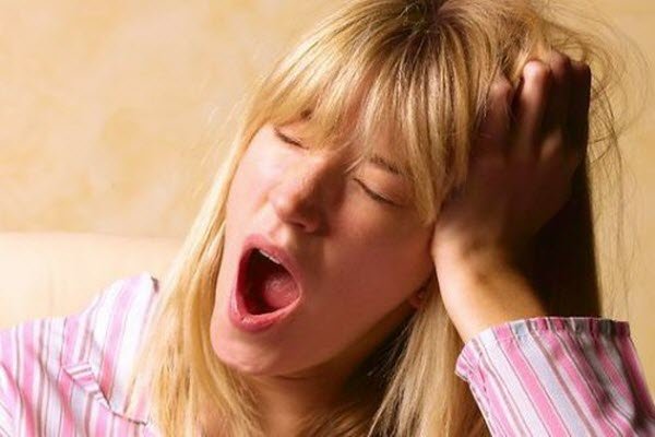 позіхання