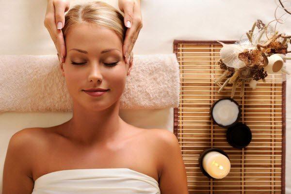 масаж голови