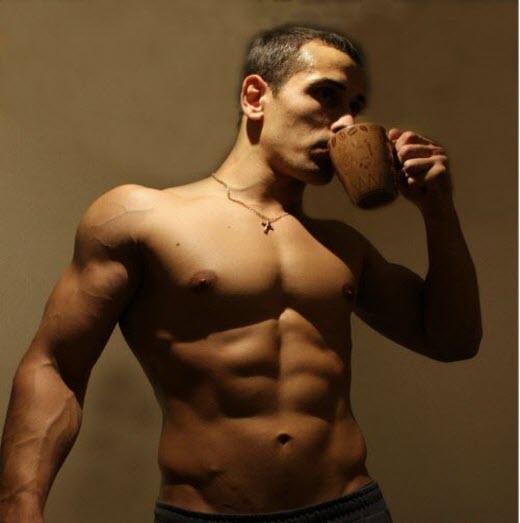 кава перед спортом