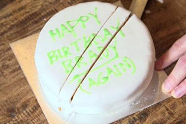 як розрізати торт