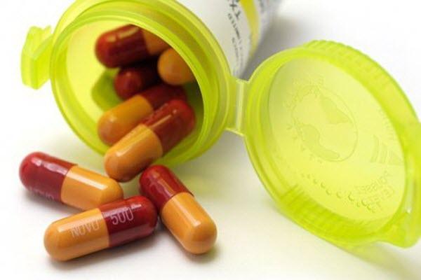 прийом антибіотиків