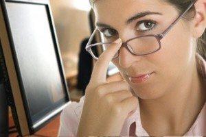 окуляри для роботи за комп'ютером