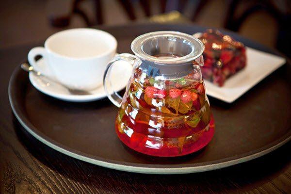 суничний чай