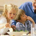 батьки, діти та живлення