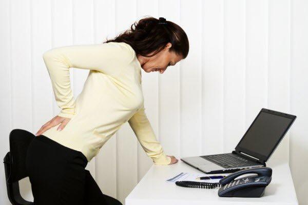 Сильні болі в спині