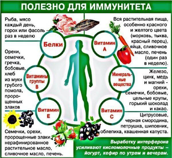 Користь для імунітету