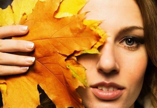 Догляд за шкірою восени