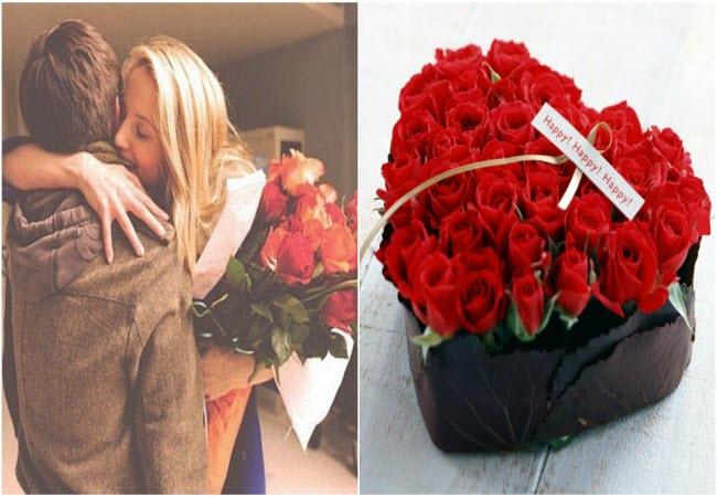 Квіти на День Валентина