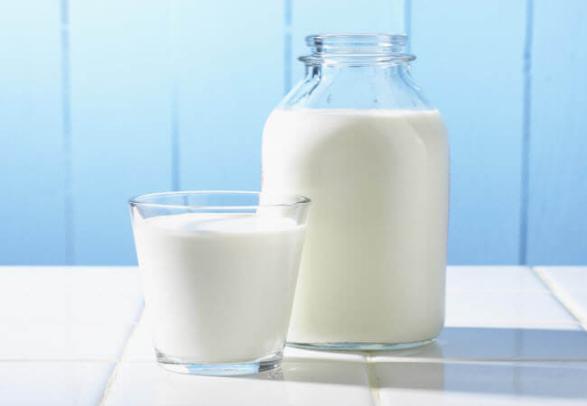 молоко з часником