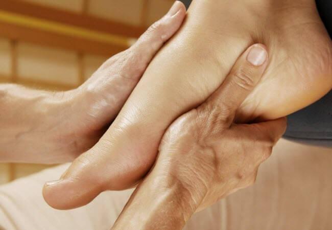 Вправи при відновленні гомілкостопа