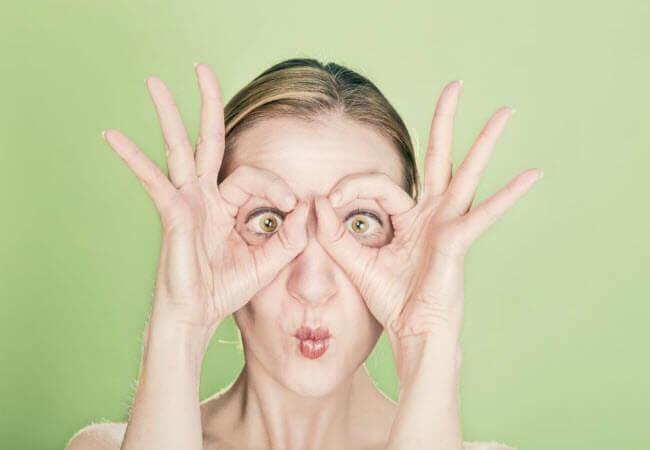 Відкриті вирази очей демонструють чутливість або цікавість