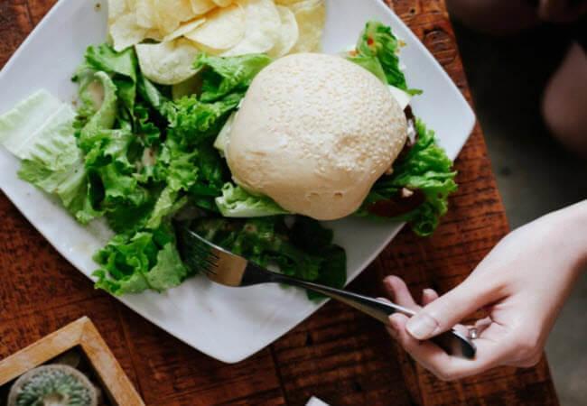 Вегетеріанський бургер