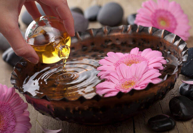 масло для масажу