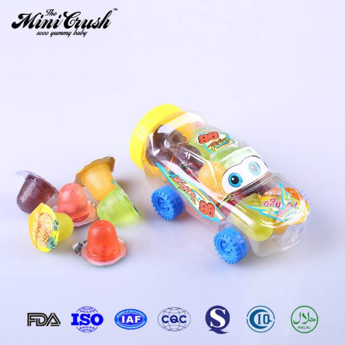 Mini Fruit Bites, Coconut Jellies, New Choice Mini Fruit Gels