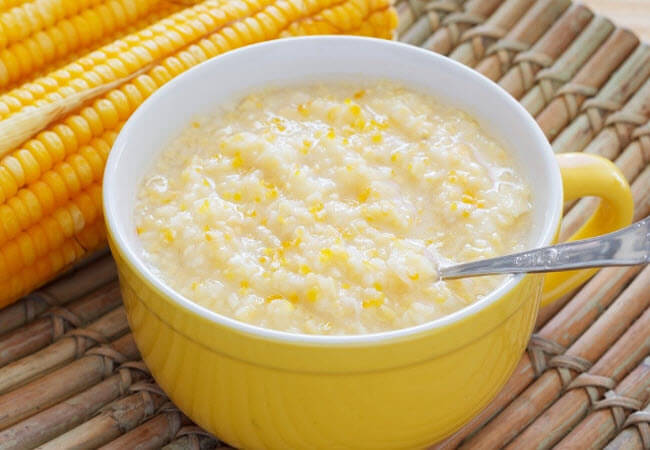 Кукурудзяна каша з маслом дхі
