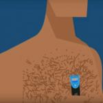 Гоління волосся на тілі
