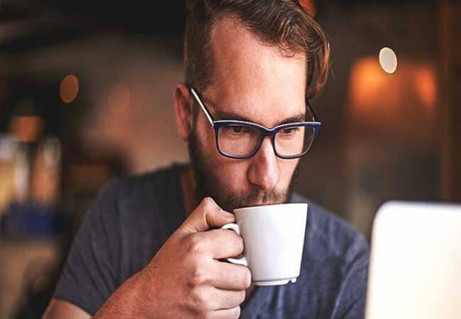 кава допомагає впоратися з задишкою