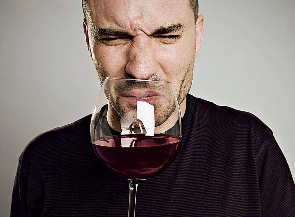 шкода вина