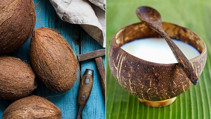 кокосове молоком