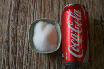Цукор в кока-колі