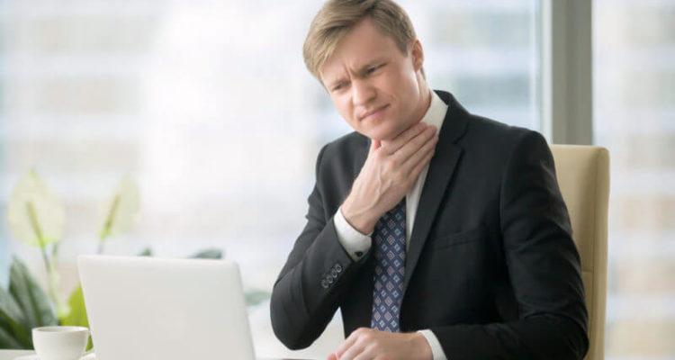 Біль в горлі