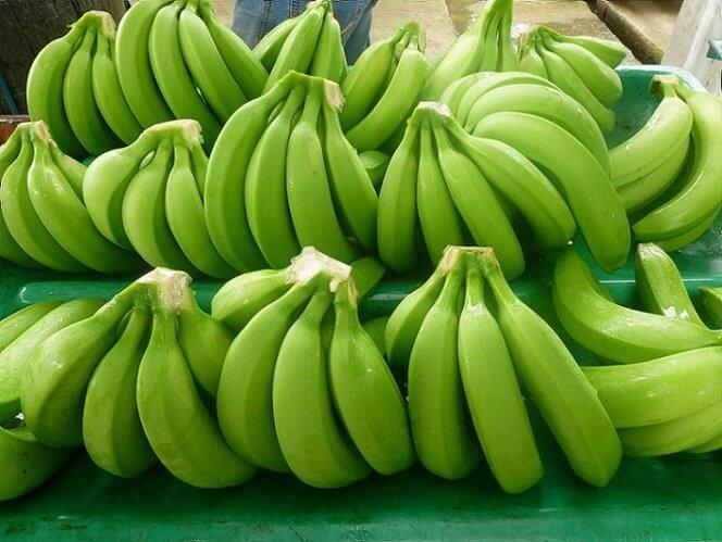 Зелені банани