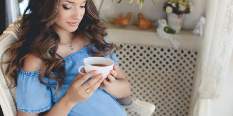 Вагітна і кава