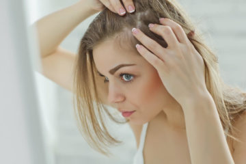 перевірити шкіру голови
