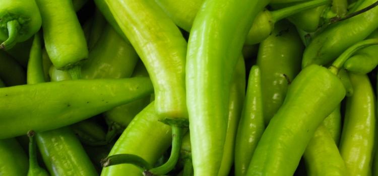 зелений перец