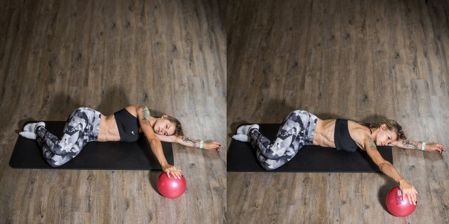 Вправи при плоскостопості: Скручування корпусу