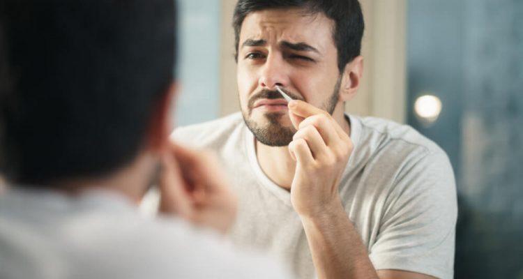 Висмикувати волосся з носа