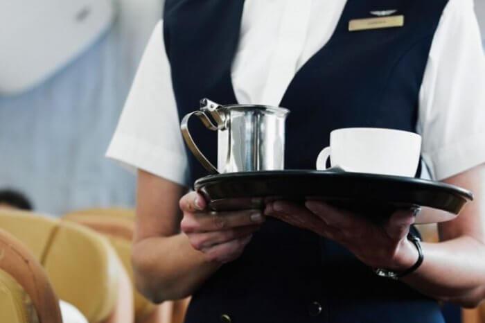 Кава в літаку