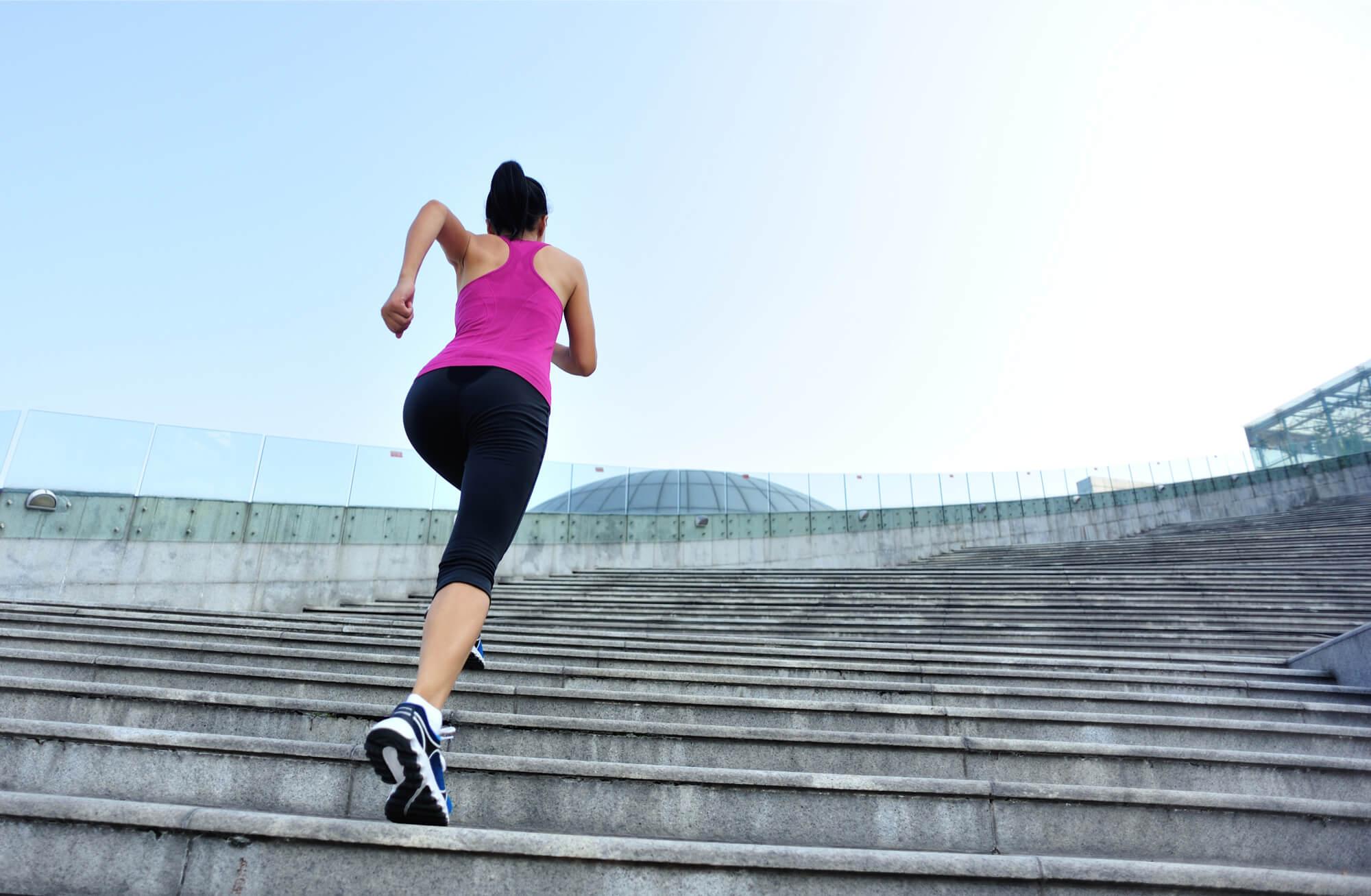 Бега для похудения спины