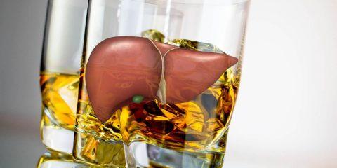 Алкогольне ураження печінки