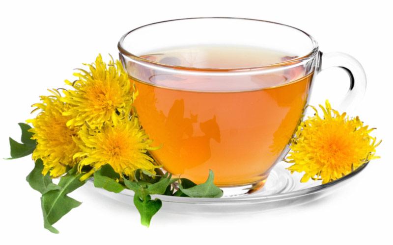 Чай з кульбаб