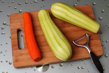 кабачки і морква