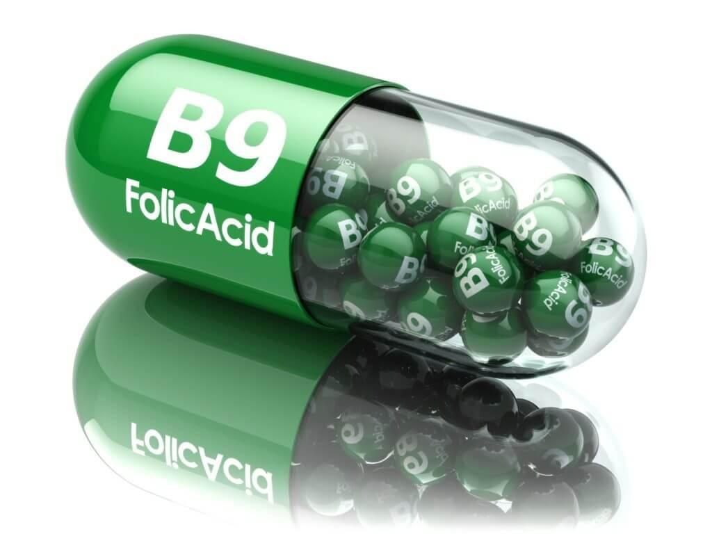 Вітамін В9 (фолієва кислота)