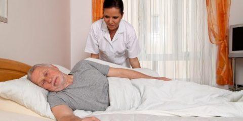 Догляд за лежачим хворим