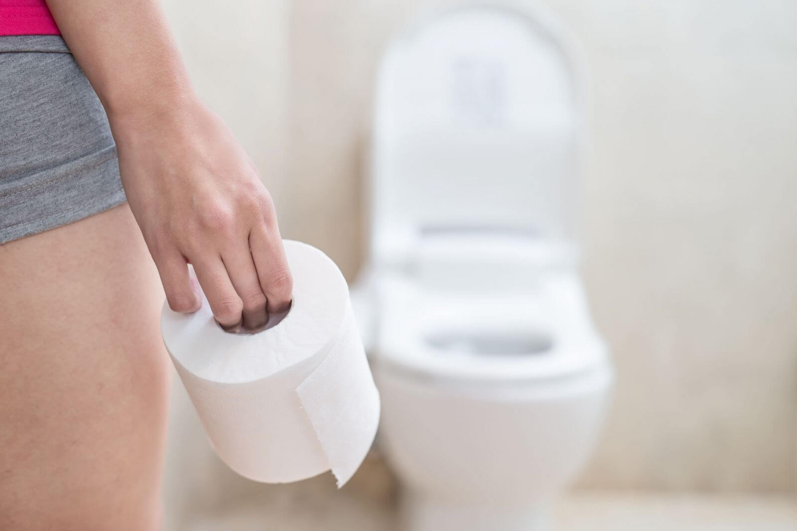 В туалеті