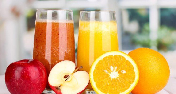 Сік апельсиновий та яблучний