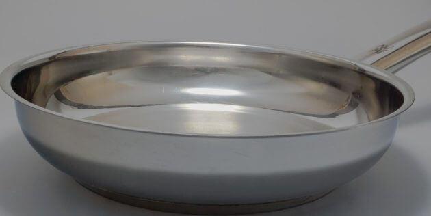 Сковорода з нержавіючої сталі