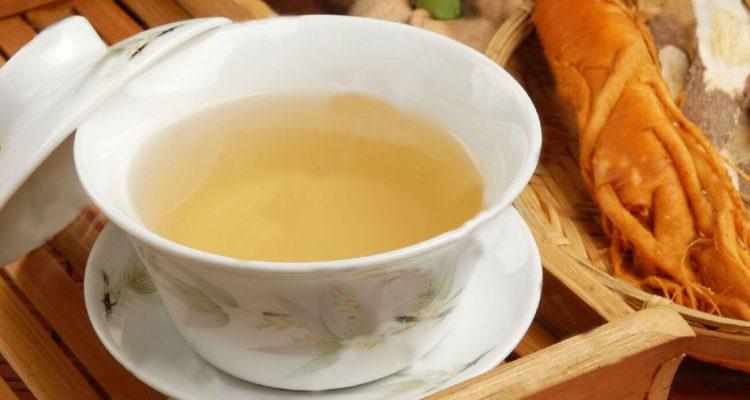 Чай з женьшенем