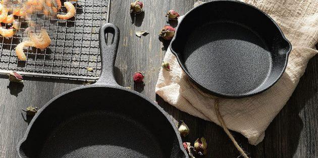 чавунні сковороди