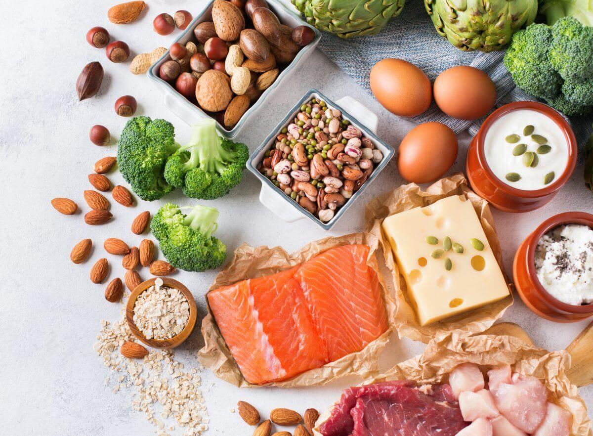 Продукти з вмістом білка